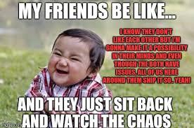 Toddler Memes - evil toddler meme imgflip
