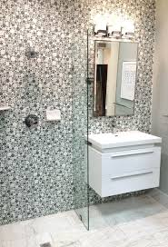 bathrooms design mosaic tile accent wall glass accent tile