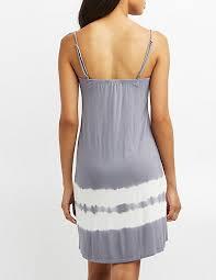 tie dye shift dress charlotte russe