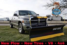 1500 dodge ram used 2005 used dodge ram 1500 ram 1500 crew cab 4x4 with plow at car