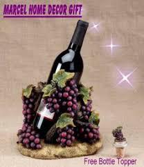 Grapes And Wine Home Decor Wine Dine Plaque Wine