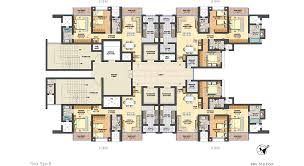 lodha primero layout and floor plans of 2 and 3 bhk flats homes