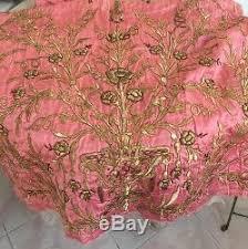 Antique Ottoman 19thc Antique Ottoman Turkish Gold Metallic Embroidered