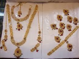 gold bridal sets buy polki gold bridal sets online