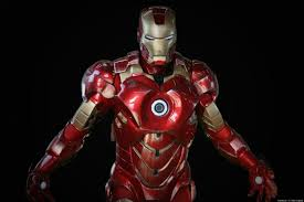 costumer chris miller uses epic iron man halloween costume to make