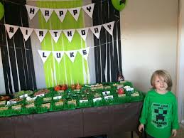 minecraft party decorations minecraft birthday party