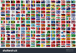 Different Flags In The World Individual Flags Of Countries With Their Names Gallery