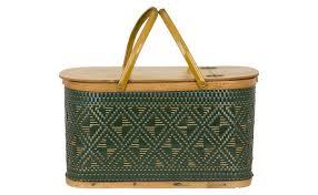 vintage picnic basket vintage picnic basket jayson home
