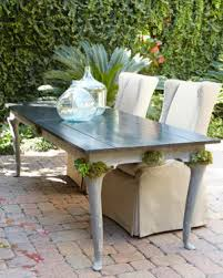 concrete patio dining table french country outdoor furniture lounging and dining