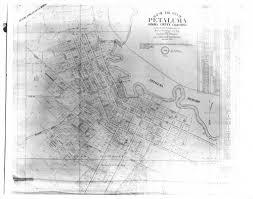 petaluma ca map calisphere map of the city of petaluma california 1865