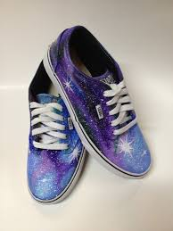 womens purple boots size 12 womens vans painted galaxy shoes purple custom nebula