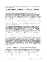Cosmetologist Resume Example by Lipid Screening In Childhood For Detection Of Multifactorial Dyslipid U2026