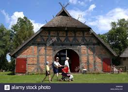 dpa a typical northern german farm house built in 1671 is