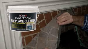 chimney rx paint u201cn u201d peel fireplace cleaner on vimeo