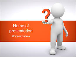man holding question powerpoint template u0026 backgrounds id