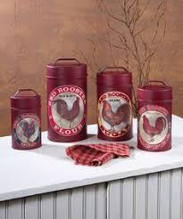 rooster kitchen canisters rooster decor in my kitchen canister sets country chic and shabby