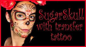 sugar skull makeup temporary tattoos fx makeup quiros