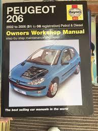 28 peugeot 206 sw haynes manual peugeot 206 petrol and