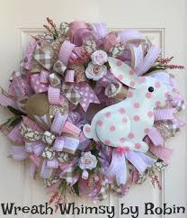 Easter Decorations Etsy by 189 Best Easter Wreaths Images On Pinterest Easter Wreaths