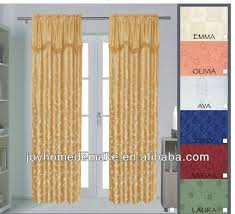 Sheer Curtains With Valance Stunning Curtains With Attached Valance And Sheer Curtain Valance