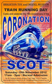 Coronation Scot Coronation Scot Train Running Day The Brighton Toy And Model Index