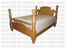 pine queen 5 u0027 u0027 cannonball bed headboard 55 u0027 u0027 high footboard 46 u0027 u0027 high