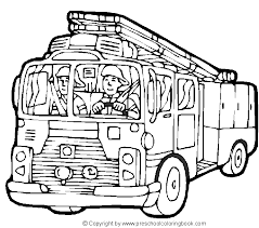 printable fire truck coloring pages kids free coloring sheets