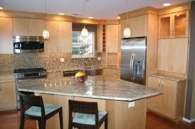 Beech Wood Kitchen Cabinets by Kitchen Interesting Design Of Modern Residential Kitchen Ideas