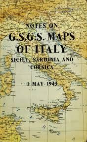 Italian Map Gsgs 4228 Series Italy 1 25 000