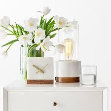 marble desk clock mark and graham