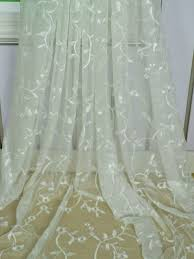 um size of curtain fascinatingdered sheer curtains picture concept india inches long curtain fabric embroidered
