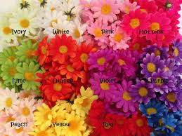 wholesale artificial flowers 24 mini silk gerbera daisies 1 75 artificial flowers wholesale