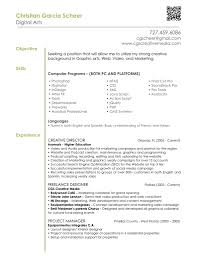 Job Objective Examples For Resumes by Graphic Designer Resume Objective Sample Resume For Your Job