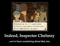 Professor Layton Meme - professor layton demotivational good question by arciam on deviantart