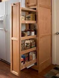 pull out tall kitchen cabinets smart space saver for the kitchen pull out pantry cabinet has been