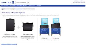 United Airline Luggage Bags Marvellous Best Ideas About United Airlines Carry Bag Size