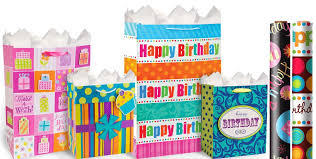 birthday gifts for in happy birthday gift bags gift wrap party city