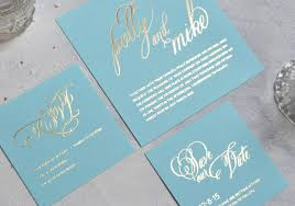 foil sted wedding invitations script foiled wedding invitation by nettle