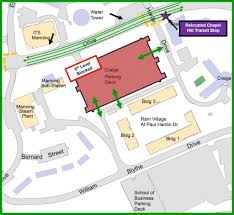 Unc Chapel Hill Map After Lane Shifts July 8 10 Manning Dr To Return To Original
