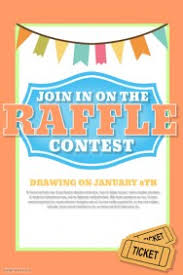 customizable design templates for raffle contest postermywall