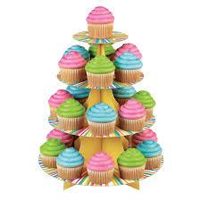 halloween cupcake stands decorative tiered cupcake stands birthdayexpress com