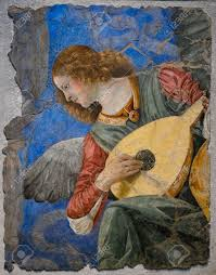 the most famous paintings one of the most famous paintings of the angels playing instruments