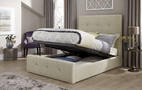 storage beds serene katherine fabric ottoman bed frame click 4