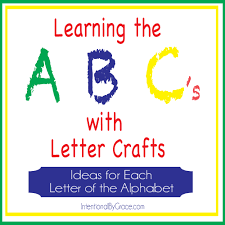 letter of the week crafts for preschoolers intentional by grace