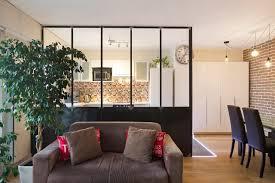 cloison cuisine salon verrière et cloison atelier d artiste pour une cuisine ou une hotte