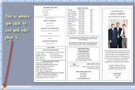 church programs template tri fold church bulletin template paso evolist co