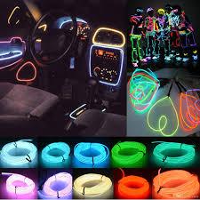 car led light strip 2017 universal car neon flexible led light strip glow el wire