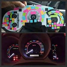notes color dashboard lights imgur