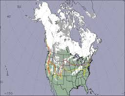 Snow Coverage Map Nasa Visible Earth Below Average Snow Cover Over North America