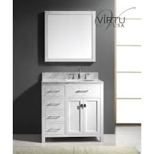Round Bathroom Vanity Bathrooms Design Virtu Usa Ms Wmro Wh Bathroom Vanity With Top